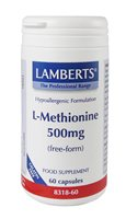 Lamberts L Methionine 500mg