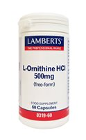 Lamberts L Ornithine 500mg