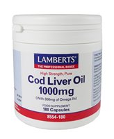 Cod Liver Oil 1000mg by Lamberts