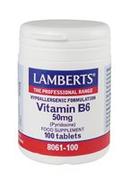 Vitamin B6 50mg by Lamberts
