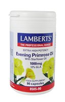 Lamberts Evening Primrose Oil with Starflower Oil 1000mg