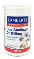 Lamberts Pure Starflower Oil 1000mg