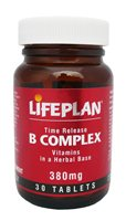 Lifeplan Vitamin B Complex Time Release 380mg