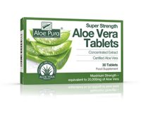 Super Strength Aloe Vera Tablets by Aloe Pura
