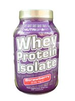 Nutrisport Whey Protein Isolate (Strawberry)
