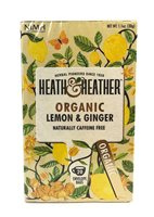Heath & Heather Organic Lemon & Ginger Tea