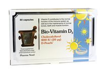 Pharmanord Bio Vitamin D3 800iu D Pearls