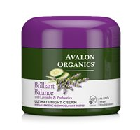 Avalon Organics Brilliant Balance Ultimate Night Cream
