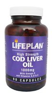 Lifeplan Cod Liver Oil 1000mg