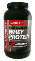 Lamberts Performance Whey Protein Strawberry Flavour