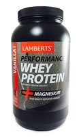 Lamberts Performance Whey Protein +Magnesium - Vanilla Flavour