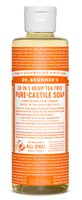 Dr Bronner's Tea Tree Castile Liquid Soap