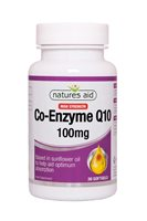 Natures Aid Co-Enzyme Q10 100mg