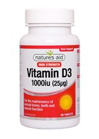Natures Aid Vitamin D3 1000iu