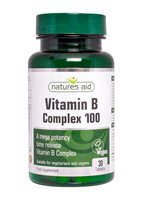 Natures Aid Vitamin B complex 100 Time Release