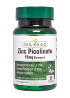 Natures Aid Zinc Picolinate 15mg