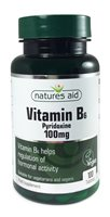 Natures Aid Vitamin B6 100mg