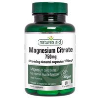 Natures Aid Magnesium Citrate 750mg