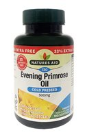 Natures Aid Evening Primrose Oil 500mg