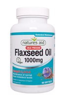 Natures Aid Flaxseed Oil 1000mg