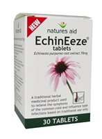 Natures Aid EchinEeze Echinacea Tablets
