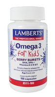 Lamberts Omega 3 for Kids Berry Burst