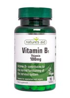 Natures Aid Vitamin B1 100mg