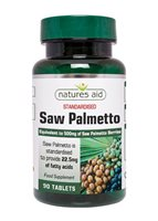 Saw Palmetto 500mg by Natures Aid