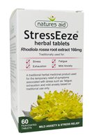 Natures Aid StressEeze Rhodiola Rosea Root Extract 166mg