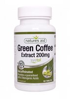 Natures Aid Green Coffee Extract 200mg
