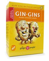 Gin Gins Double Strength Hard Ginger Candy by The ginger people