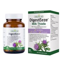 Natures Aid DigestEeze Milk Thistle Tablets