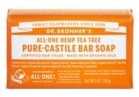 Dr Bronner's Tea Tree Pure Castile Soap Bar