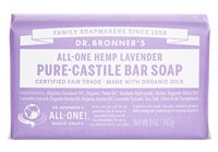 Lavender Pure Castile Soap Bar by Dr Bronner's