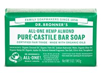 Dr Bronner's Almond Pure Castile Soap Bar