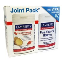 Lamberts Joint Pack Glucosamine Complete and Pure Fish Oil