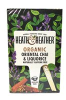 Heath & Heather Organic Oriental Chai & Liquorice