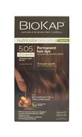 BioKap Chestnut Light Brown 5.05 Permanet Hair Dye