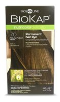 BioKap Natural Medium Blond 7.0 Permanet Hair Dye
