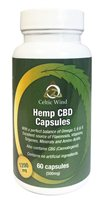 Celtic Wind Crops Hemp CBD Capsules
