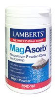 Lamberts MagAsorb Magnesium Powder 375mg