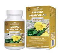 Natures Aid Organic Evening Primrose Oil 500mg