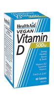 Health Aid Vitamin D 500iu