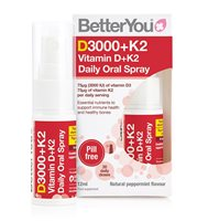 Better You  D3000+K2 Vitamin D+K2 Daily Oral Spray