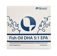 Fish Oil DHA 5:1 EPA by Bionutri