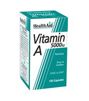 Health Aid Vitamin A 5000iu