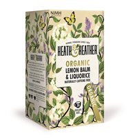 Organic Lemon Balm & Liquorice by Heath & Heather