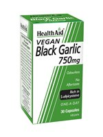 Health Aid Vegan Black Garlic 750mg