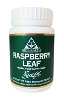 Bio Health Raspberry Leaf 500mg