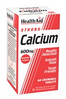 Health Aid Strong Calcium 600mg Chewable